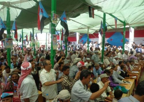 أبناء حالمين والسلطة المحلية والحراك الثوري يعلنون تأييدهم لتشكيل المجلس الانتقالي للجنوب