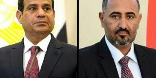 *المجلس الانتقالي الجنوبي يدين تفجير المنيا والزبيدي يبعث ببرقية عزاء للرئيس السيسي*