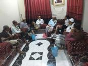 عدد من اعضاء المجلس الانتقالي الجنوبي يزوروا القيادي علي هيثم الغريب