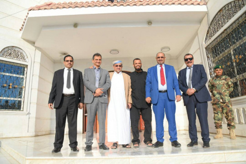 Leadership of the Southern Transition Council Headed by the President of the Council Major General Aidrous Qasem Al-Zubaidi Arrived in Aden