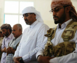 Al-Zubaidi and Southern Leaders Perform Friday Prayers at the Presidential Mosque in Al-Tawahi