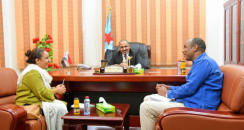 President of the STC Meets Oxfam Delegation to Discuss the Projects in Aden ,Lahj and Al-Dala'e