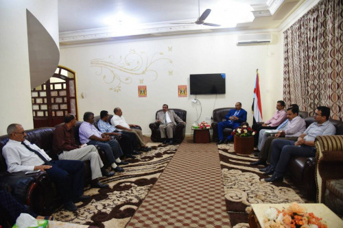 President of the STC Meets Southern Academics from Aden and Hadhramout