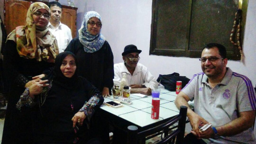 STC Presidency Members Pay Visits to Zahra and Djamila