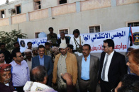 President of Southern Transitional Council Inaugurates its Headquarters  in Shabwa and Visits the Memorial Hall