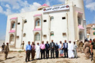 The STC Inaugurates its Headquarters in Hadhramout