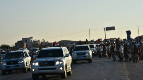 President of the STC and its Members Arrive at Al Ghaydah