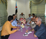 The Presidium of The STC  Held its First Meeting in Al Mukalla
