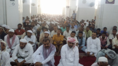 STC President and Members Perform Friday Prayer in Al-Mukalla