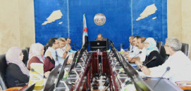 The STC Meets Today in Aden
