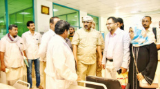 Al-Zubaidi Visits the Dialysis Care Center