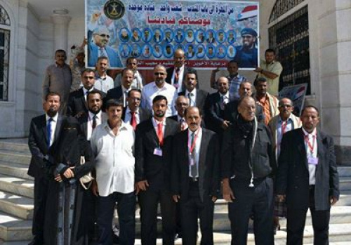 Al-Zubaidi Meets the Representatives of Al-Mahra and Shabwa