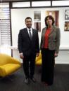 Al-Halimi, STC Member of Presidency Meets with the Dutch Ambassador to Yemen in Riyadh