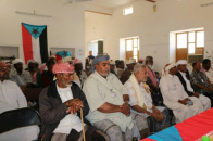 STC Local Leadership Founding Meeting in Al-Soom District of Hadramout