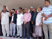 Members of the Presidium of the STC Participate at the Peaceful Rally to Overthrow the Government