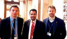 The STC Member Murad Al-Halimi Meets British Foreign Office Officials in London