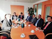 President Al-Zubaidi Meets the Swedish Envoy to Yemen and Libya