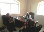The Head of the Mass Action Department Meets the Head of Yemen Women's Union