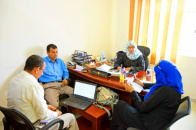 The Rights and Freedoms Department Meets the Representative of the High Commissioner for Human Rights