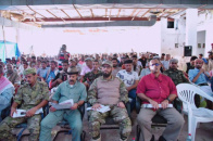 Vice-President of the Southern Transitional Council, Sheikh Hani bin Brik Attends the Memorial Service of the Martyr Abu Hatm