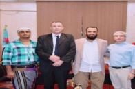 Vice President of the Southern Transitional Council Meets the Red Cross