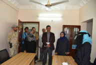 Newly Appointed Lamlas Visits the STC's Departments and Offices