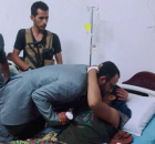 """Hani Ben Berek Visits the Wounded in the """"Torrent Floods"""" Operation"""