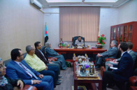 The Vice President of the Southern Transitional Council Meets the Swedish Envoy to Yemen and Libya