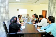 The General Secretariat of the  STC holds its Weekly Meeting with the Heads of its Departments