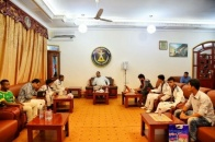 President Al-Zubaidi Receives the Southern Winners in the Elite Taekwondo Championship