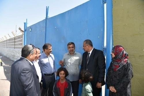 President Al-Zubaidi Visits the Site of Martyrdom of Major General Ali Nasser Hadi