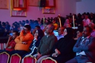 "Southern Transitional Council participates the citizens attending the movie ""10 days before the Zafa"""