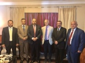 President of The Southern Transitional Council receives the Ambassador of Britain, Mr. Michael Aaron