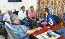 Vice President of Southern Transitional Council, Sheikh Hani Ben Brik,inspects the work progress of the General Secretariat and praises the discipline of its members