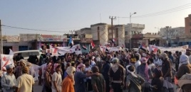 In Response to the Call of the Southern Transitional Council, Angry Marches in Al-Mahra Demand Overthrowing of the Corrupt Government