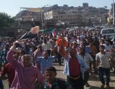 Responding to the Southern Transitional Council, an angry march in Al-Dhala rejecting the corrupted government and demand restoring the state