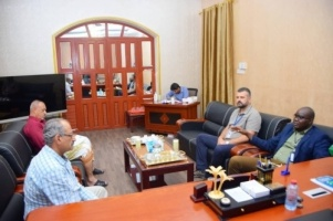 Acting Secretary-General of Southern Transitional Council, Fadhl Al-Jaadi, meets the political advisor of the UN envoy