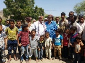 Al-Jaadi inaugurates the work of Southern Transitional Council Relief Committee to save the people of Al-Azariq in Dalea