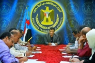 Lamles chairs the weekly meeting of the General Secretariat and inspects progress of its departments