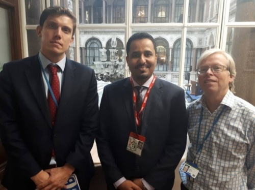 Al-Halimi meets Director of Yemen Office at British Foreign Office
