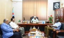 The President of Southern Transitional Council meets Director of the Office of UN Envoy to Yemen