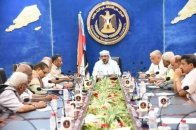 President Al-Zubaidi Meets Leadership of Decision-Making Support Center