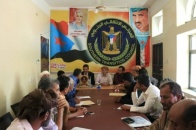The organizational department of Southern Transitional Council inaugurates from Al-Dalea its field program to local leaderships