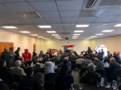 Sheikh Hani Ben Brik held a meeting with people of the South in Britain