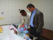 Secretary-General of Southern Transitional Council meets officials of Médecins Sans Frontières organization and reassures on wounded in the hospital