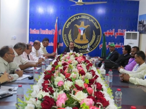The Southern Transitional Council continues consultations with southern parties and meets the Green Party