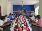The Southern Transitional Council continues its consultative meetings with the leadership of the Supreme National Authority for Independence