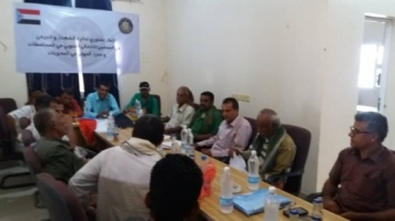 The Department of Wounded and Martyrs of the Southern Transitional Council holds a Consultation Meeting in Abyan