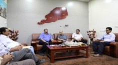 President of the National Assembly of Southern Transitional Council meets members of the Southern Diplomatic Commission