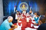 The Weekly General Secretariat Meeting discusses activities of its Departments